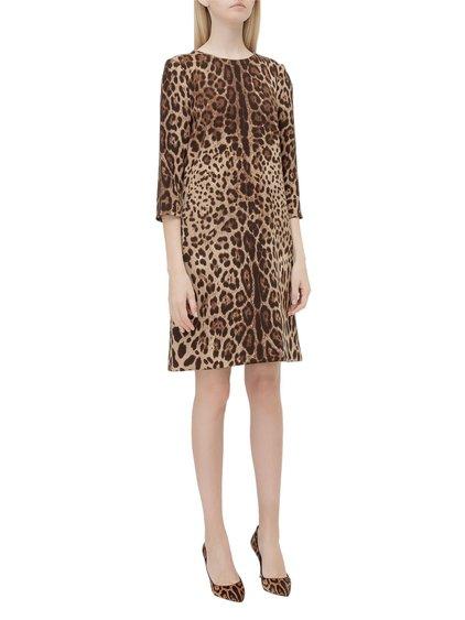 Leopard-Skin Print Dress image