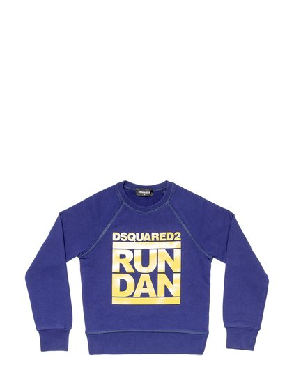 Sweatshirt with Crewneck and Logo image