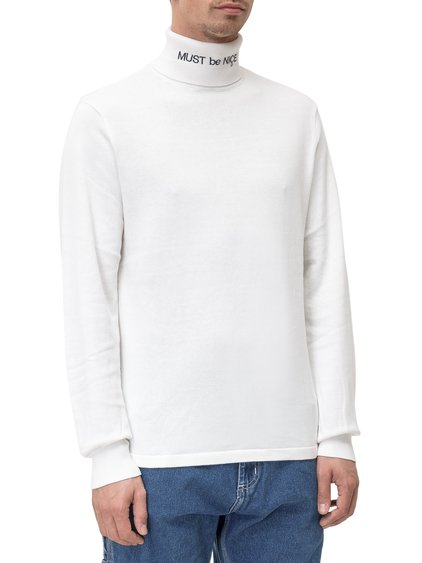 Turtleneck with Writing image