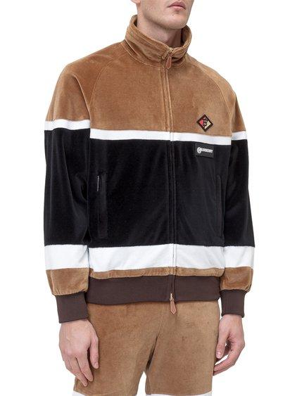 Sweatshirt with High Collar image