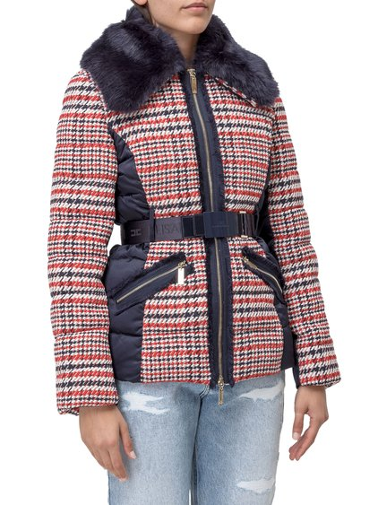 Quilted Jacket with Belt image