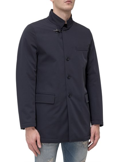 Jacket with Stand Up Collar image