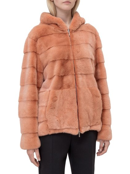 Fur Coat with Hood image