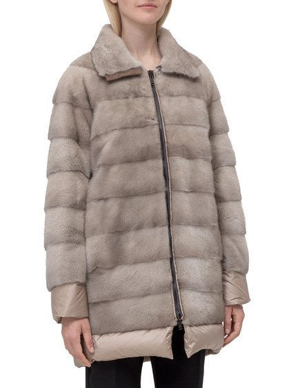Reversible Fur Coat image