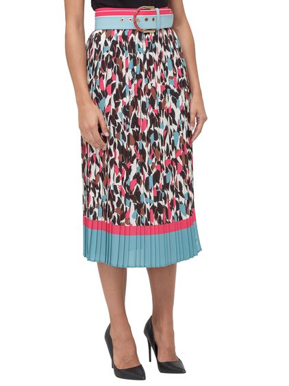 Midi Skirt with Belt image