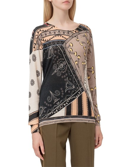 Pullover with Print image
