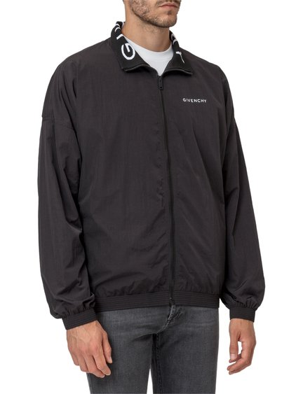 Windbreaker with Logoed Collar image