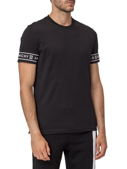 T-Shirt with Logoed Bands image