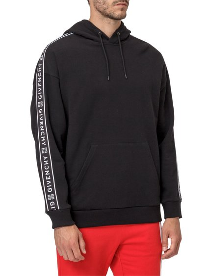 Hoodie with Bands at Sleeves image