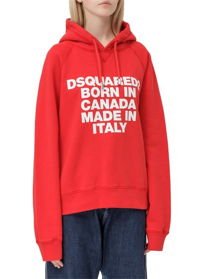 Hooded Sweatshirt with Logo image