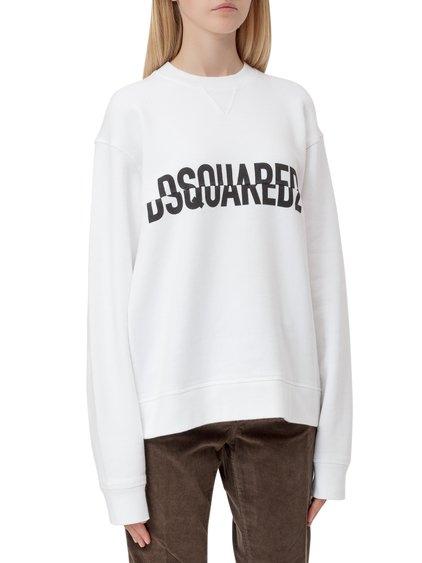 Sweatshirt with Logo Print image