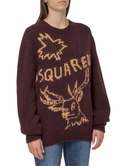 Sweater with Logo Motif image