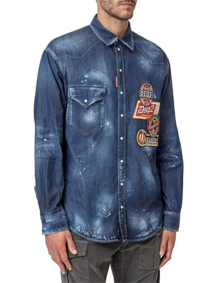 Shirt with Patches image