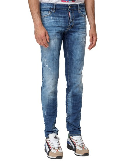 Jeans with Faded Effect image