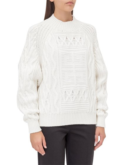 Knitted Sweater with Logo image