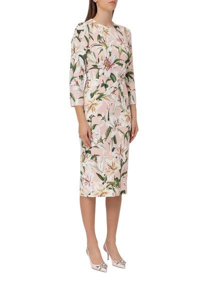 Midi Dress with Ruffles image