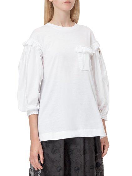 4 Moncler Simone Rocha T-Shirt with Ruffles image