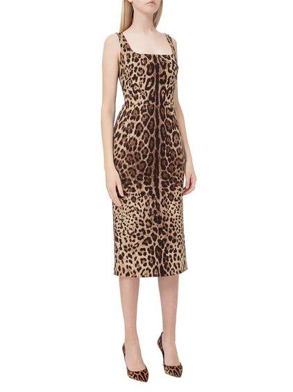 Lopard Print Dress image