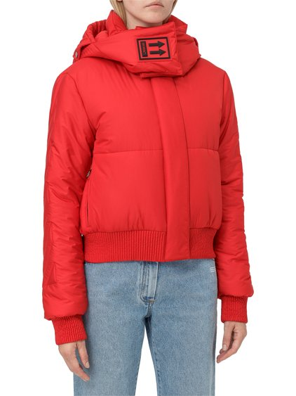 Down Jacket with Removable Hood image