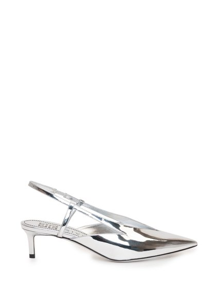 Metallic Leather Pumps image