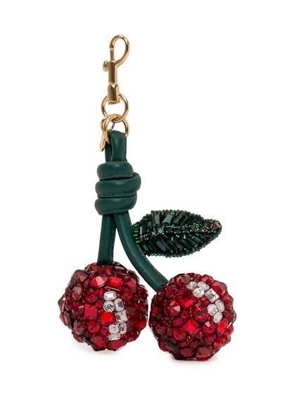 Cherry Crystal Keychain image