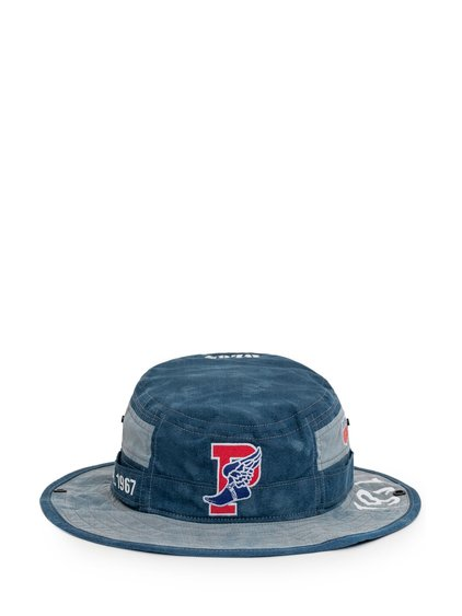 Indigo Stadium Bucket Hat with Logo image