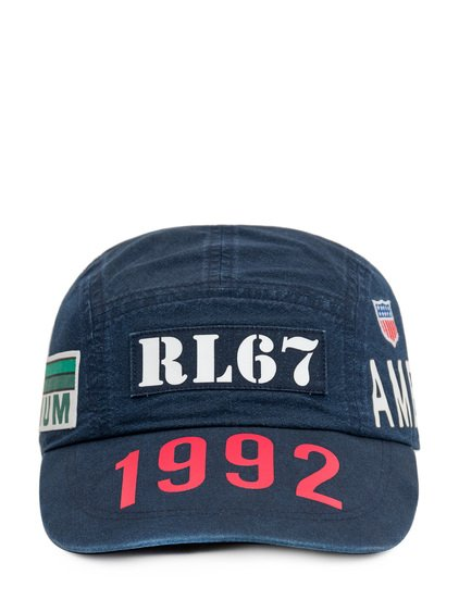 Indigo Stadium Baseball Hat with Logo image