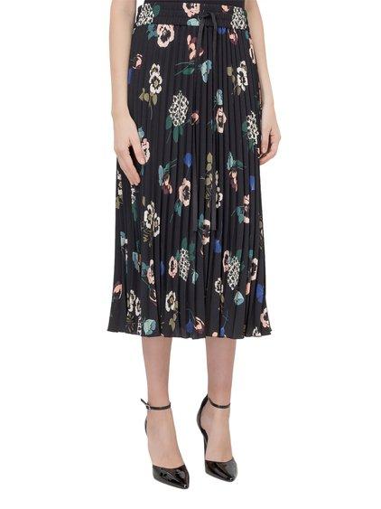 Midi Pleated Skirt image