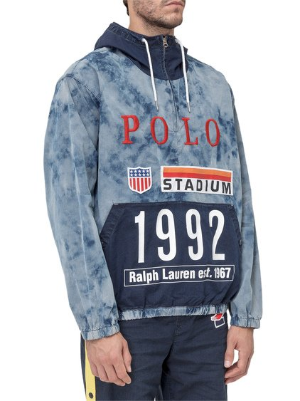 Indigo Stadium Jacket with Logo image