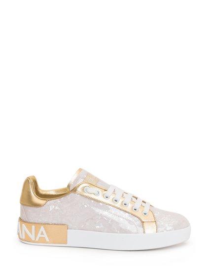 Portofino Sneakers Mother of Pearl Print image