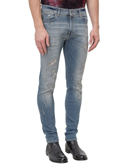 Jeans Repaired Denim image