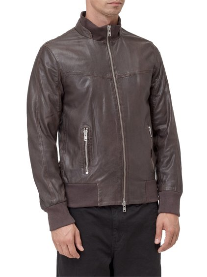 Leather Bomber image