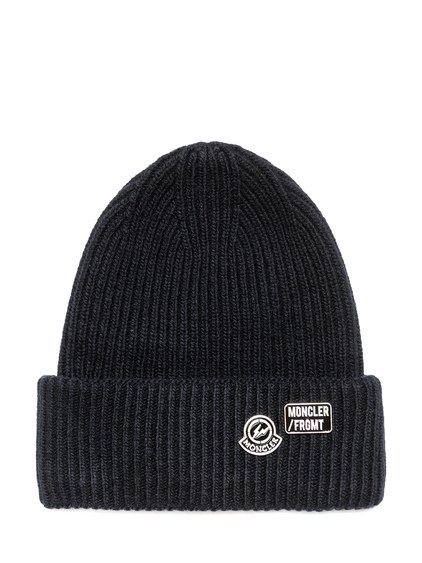 7 Moncler Fragment Beanie with Logo image