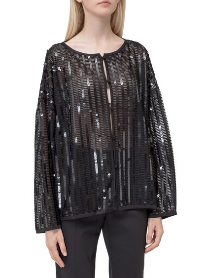 Knitted Jacket with Sequins image
