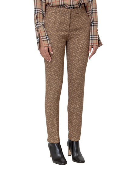 Trousers with Monogram Print image
