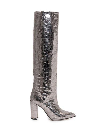 Boots Metallic Croco image