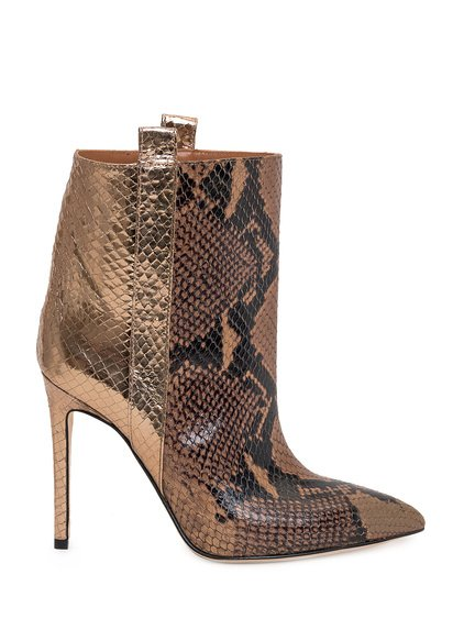 Ankle Boots Snake Print image