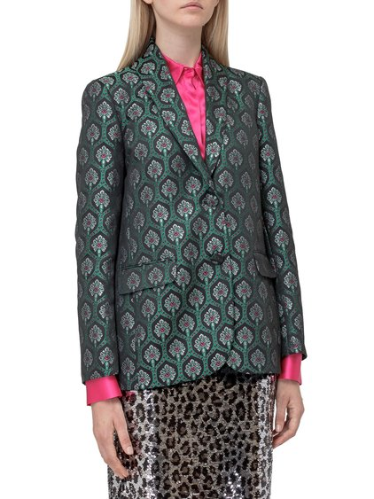 Blazer with Floral Pattern image