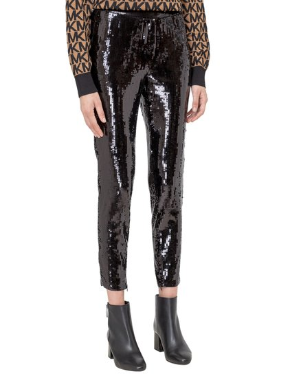 Trousers with Sequins image