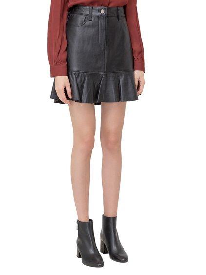 Pleated Miniskirt image