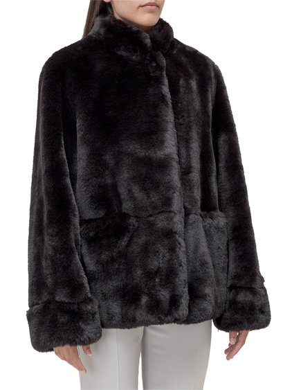 Jacket in Faux Fur image