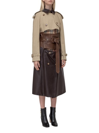 Deconstructed Trench Coat image
