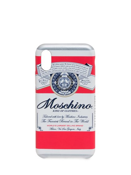 Moschino x Budweiser Iphone X/XS Case image