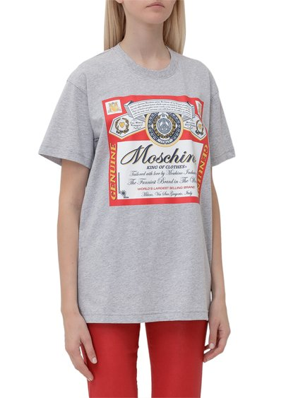Moschino x Budweiser T-shirt with Print image