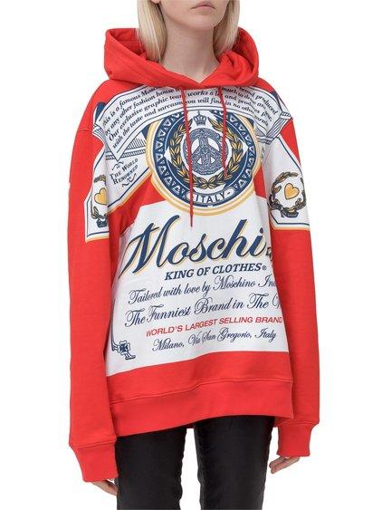 Moschino x Budweiser Sweatshirt with Print image