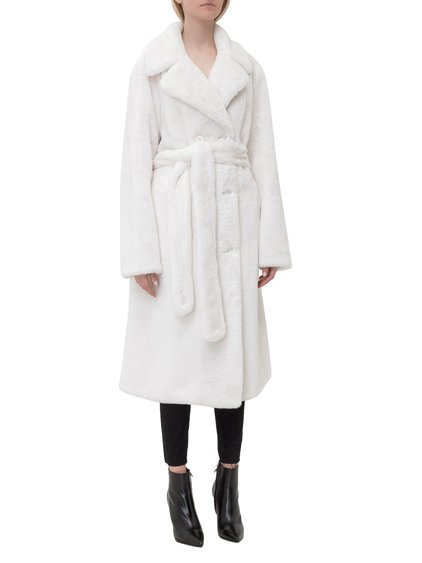 Faustine Coat in Faux Fur image