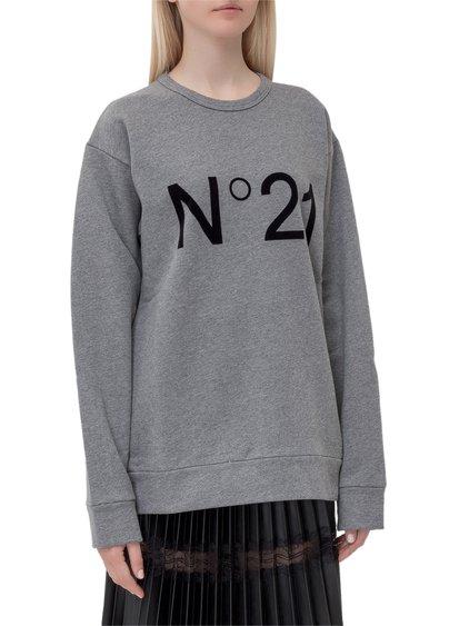 Sweatshirt with Logo image