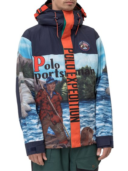 Outdoors Capsule Jacket with Print image