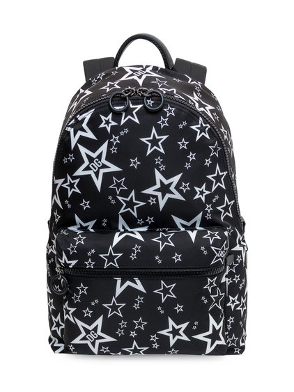 Printed Backpack image
