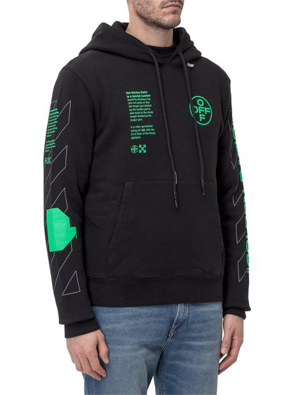 Hooded Arch Shapes Sweatshirt image